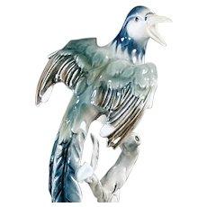 Beautiful Vintage Bochmann Exotic Bird Figurine - West Germany 1938-1956