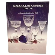 Seneca Glass Company Hardbound Reference Book - Stemware Identification Guide