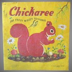 Children's Vintage Fuzzy Wuzzy Book – Chickaree Squirrel