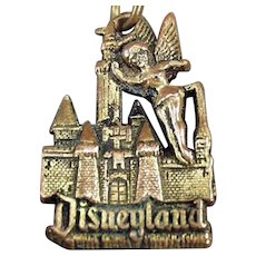 Vintage Tinkerbell and the Magic Kingdom Disneyland Key Chain