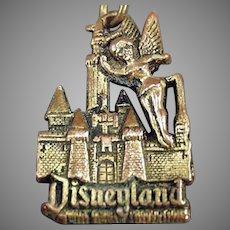 Vintage Tinkerbell and the Magic Kingdom Disneyland Key Chain