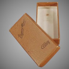Vintage Corday Toujours Moi Perfume Empty Box
