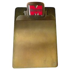 Vintage Monsanto Chemical Company Advertising Clipboard