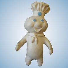 Vintage 1971 Pillsbury Poppin' Fresh Doughboy Advertising Doll