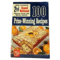 Vintage Pillsbury 2nd Grand National Bake-Off Recipe Booklet -1950 First Edition