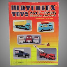 Reference Book – Matchbox Toys 1947 to 1996 Second Edition by Dana Johnson