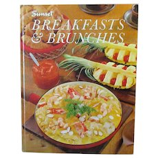 Vintage Sunset Cook Book – Breakfasts and Brunches – 1966 First Printing