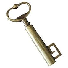 Vintage Skeleton Key Brass Corkscrew – Old Barware Cork Screw