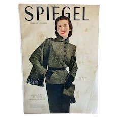 1951 Spiegel Fall & Winter Catalog with Vintage Fashions, Toys & Furnishings