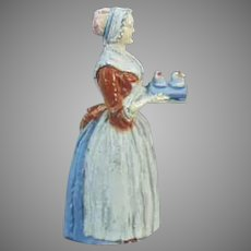 Vintage Baker's Chocolate Girl Advertising Pencil Sharpener