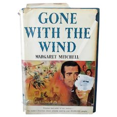 Gone With the Wind by Margaret Mitchell – Vintage Hardbound Book Club Edition