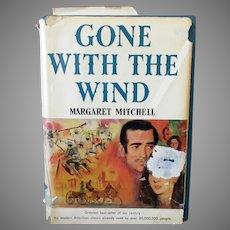 Gone With the Wind by Margaret Mitchell – Vintage Hardbound Book Club Edition