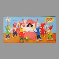 Vintage Chocolats Fjord Candy Box with Snow White and Dwarfs – Pop-Up Action