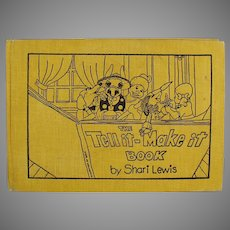 Children's Vintage 1972 Shari Lewis Book Tell It Make It Project Story Book