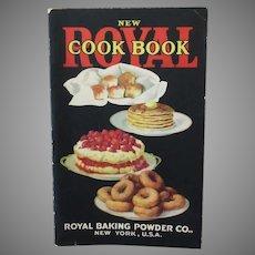 Vintage Recipe Book - Royal Cook Book Baking Powder Advertising 1922