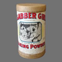 Vintage Clabber Girl Baking Powder - Old Advertising Sample Box