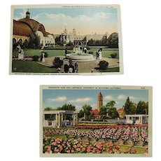 Vintage Postcards - Southern California Exposition Souvenir Postcards