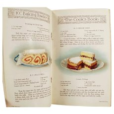 Vintage K C Baking Powder Advertising Recipe Booklet Cookbook