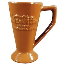 Vintage Nesbitts' Hot Chocolate Advertising Ceramic Cocoa Mug