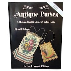 Antique Purses Reference Book by Richard Holiner – Revised 2nd Edition – Great Photos