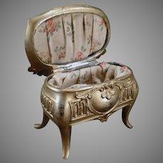 Vintage Jewelry Box Casket Dresser Box - Des Moines, Iowa Souvenir
