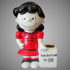 Vintage 1970's Doctor Lucy Hallmark Candle Holder – United Features Syndicate