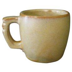 Vintage Frankoma Pottery - Plainsman Cup in Desert Gold