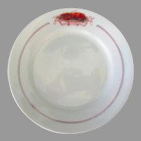 Vintage Restaurant China – Small Plate with Lobster – The Quelle