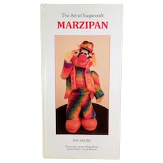Fun Marzipan Craft Book- The Art of Sugarcraft - 1986 Hardbound Edition