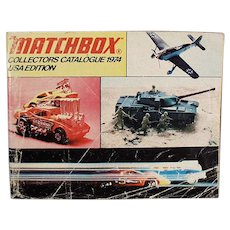Vintage 1974 Matchbox Collectors Catalogue Identification List - Great Reference Catalog