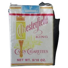 Vintage Box of Chesterfield King Candy Cigarettes – A Bit of Nostalgia