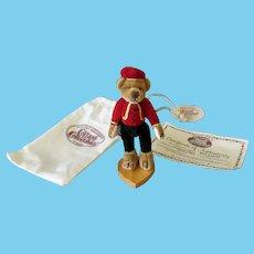 Vintage Miniature Bellhop Bear – Ganz Cottage Collectibles