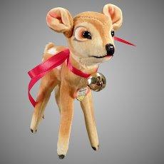Vintage Steiff Stuffed Bambi Deer with Original Steiff Hang Tag