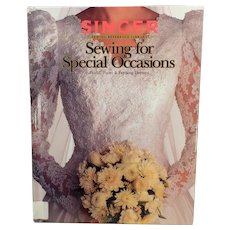 Singer Sewing for Special Occasions Book with Eloquent Bridal, Prom and Evening Dresses