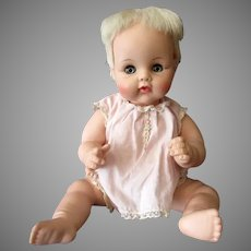"Vintage Madame Alexander 12"" Kitten Baby Doll – 1960's Adorable Doll"