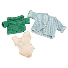 Vintage Doll Sweaters for Tammy and Other Similar Dolls