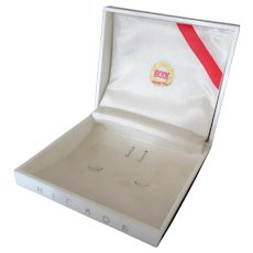 Vintage Jewelry Presentation Gift Box – Hickok – Cuff Links and Tie Tack
