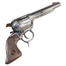 Vintage Geo. Schmidt Roy Rogers Toy Cap Pistol  - 1950's Western Gun