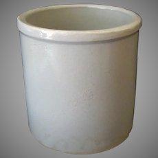 Vintage Robinson Ransbottom Pottery Stoneware Crock - Marked R.R.P.Co Roseville