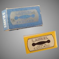 Vintage Box of Lady Laurel Safety Razor Replacement Blades
