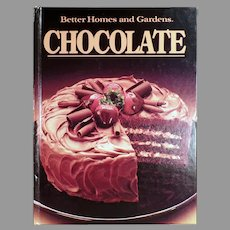 Vintage 1984 Better Homes and Gardens Chocolate Recipe Cook Book