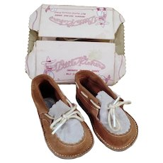 Vintage Gertrude Little Kicker Baby Shoes – Like New Condition