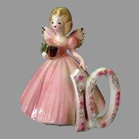 Vintage Josef Original #10 Birthday Girl Angel - Age Ten, Pretty in Pink