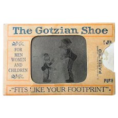 Vintage Optical Illusion Flicker with Mutt & Jeff – Old Shoe Advertising