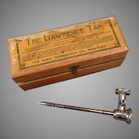 Vintage 1876 Lawrence Tap for Champagne and Other Effervescent Drinks