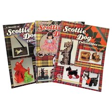 Reference Books – A Treasury of Scottie Dog Collectibles – Volumes 1 2 3