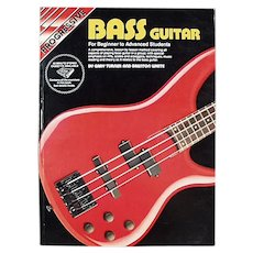 Progressive Bass Guitar for Beginner to Advanced Students - 1992 Paperback Book