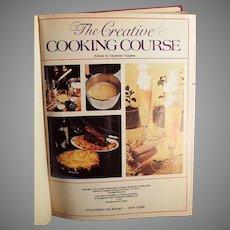 Vintage Creative Cooking Course Recipe Book -1975 Creative Homemaker's Academy Hardback by Turgeon