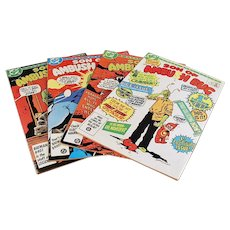 Four 1980's Vintage Comic Books - Son of Ambush Bug - 4 Issues