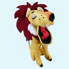 Vintage Dakin Dream Pet – Yawning King of the Jungle Lion Stuffed Toy